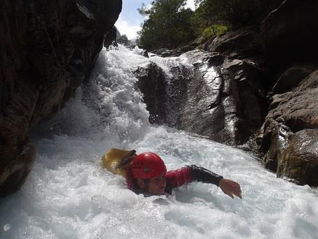 canyoning hautes pyrenees