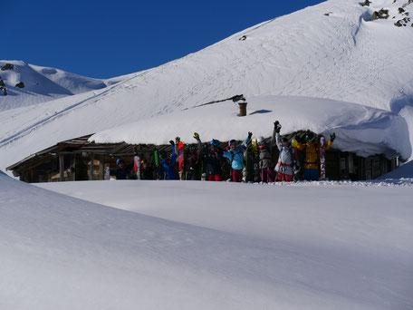 Snowpack, snowbase