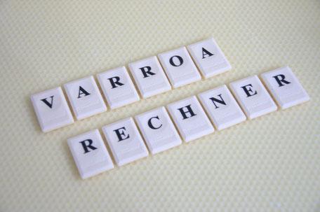 Schriftzug Varroarechner