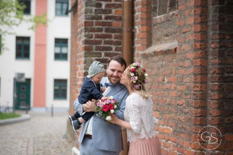 Hochzeitsshooting in Stralsund, Deutschland
