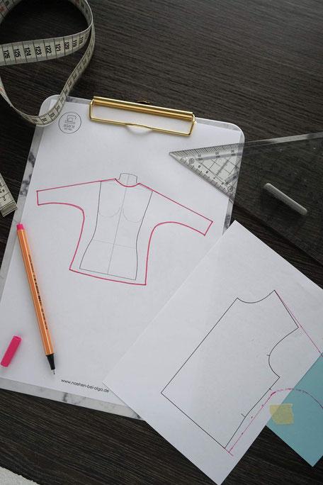 onlinekurs-schnittmuster-shirt-design-schnittgestaltung
