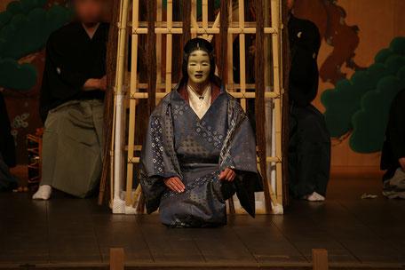 深井(雪) 武田神社薪能第10回「安達原」シテ 佐久間二郎師