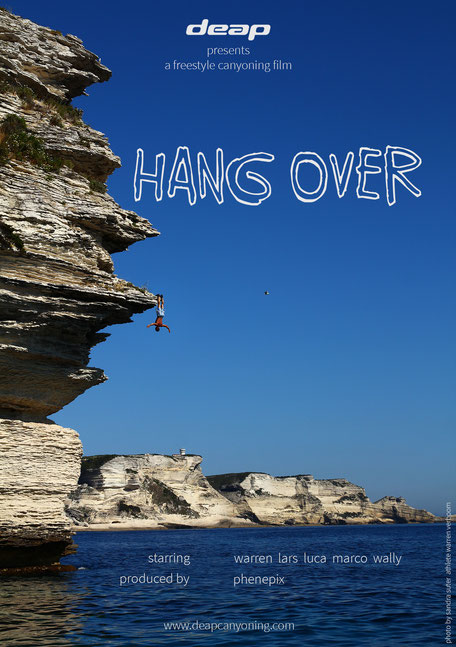 "cover - third deap freestyle canyoning film ""hang over"""