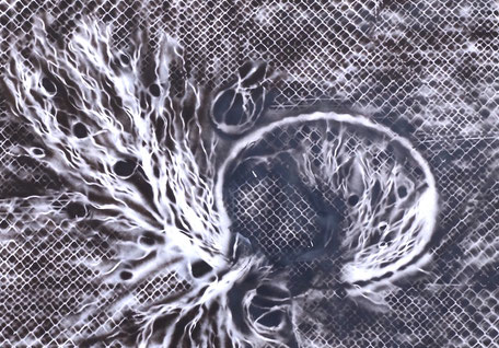 Dreamcatcher- Spray Acrylique - 110cmx170cm -