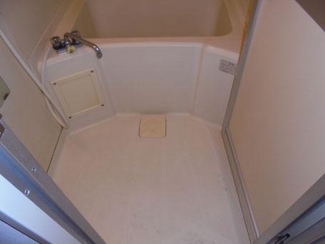 浴槽塗装洗い後