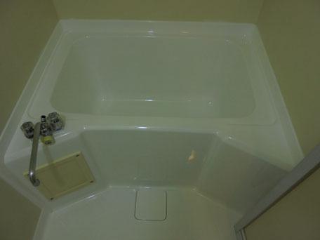 浴槽塗装完了