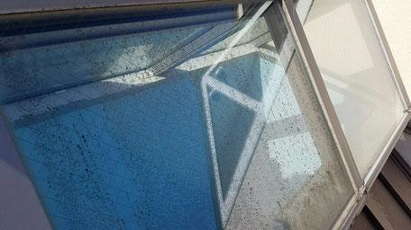 ガラスの汚れ