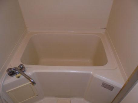 浴槽塗装洗浄後
