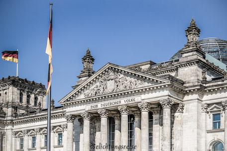 Berlin, Reichstag, Dem Deutschen Volke, Foto, Fotografie,  Belichtungsreise