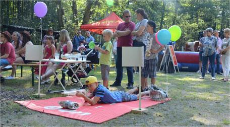 Laserbiathlon mieten Camp leihen Köln Bonn Biathlon