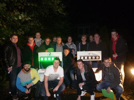 Schützen Biathlon Feier Party Geburtstag Spaß Camp