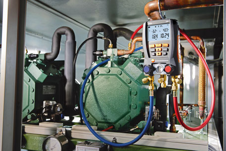 manometri testo attrezzatura pr aria condizionata ed idraulici