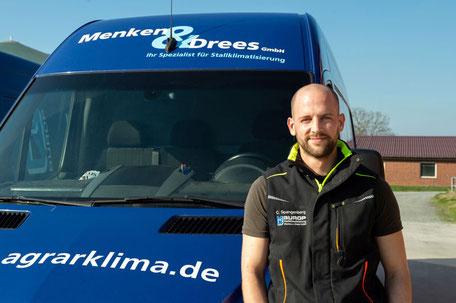 Christoph Spangenberg | Elektrotechniker Kundendienst Menken & Drees GmbH
