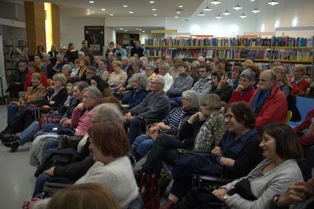 Près de 140 personnes ont assisté à la projection du documentaire.