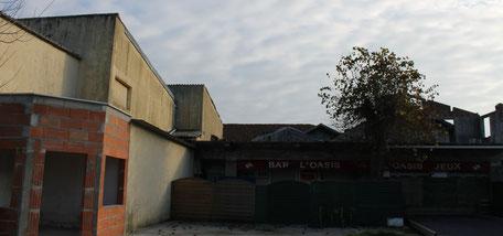 L'ancienne salle de cinémal'Oasis au Petit-Piquey à Lège-Cap-Ferrret