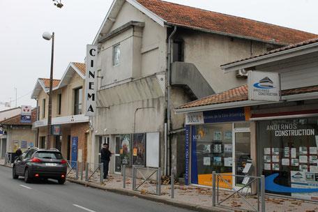 La salle de cinéma Le Rex à Andernos