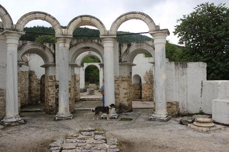 Ruinen von Veliki Preslav