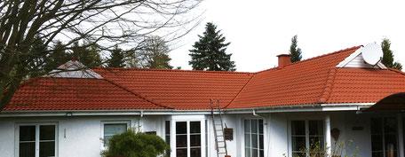 Fertig beschichtetes Dach
