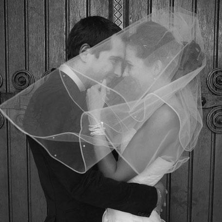 Photo de coupe lors de leur Mariage