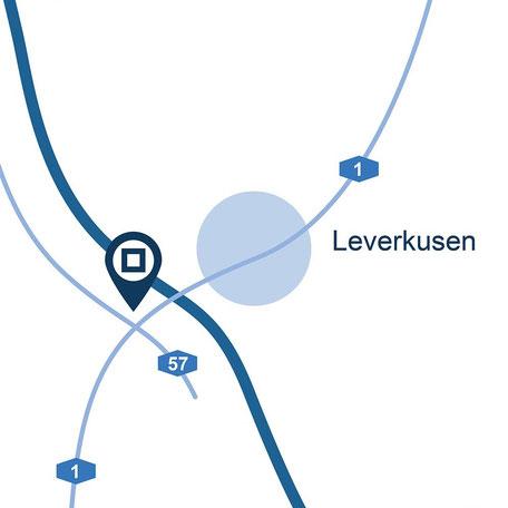 Blaue Boxen Self Storage Leverkusen- Günstigen Lagerraum mieten