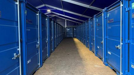Blaue Boxen Self Storage Bad Honnef - Günstigen Lagerraum mieten