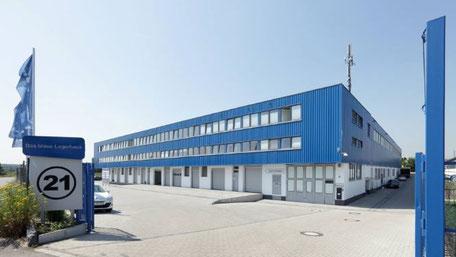 Blaue Boxen Self Storage Köln/Bonn - Günstigen Lagerraum mieten