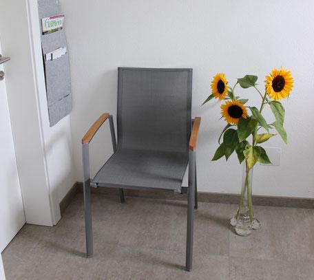 Wartebereich Physiotherapie Monika Stumpfl, 4702 Wallern an der Trattnach, Amselweg 11, Bezirk Grieskirchen