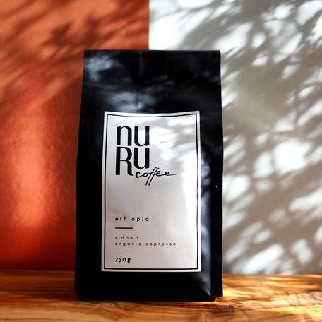 NURUCOFFEE Packung Espresso/ Kaffee aus Äthiopien