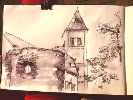 Birgit_Lipeck_Stadtmauer_Köszeg