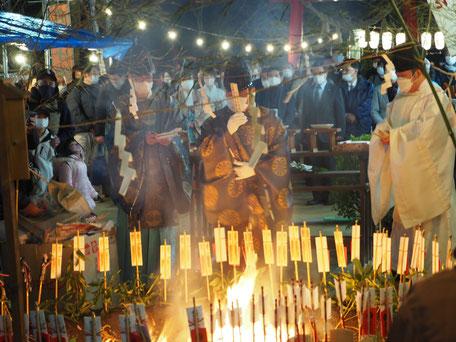 火焚祭(祈祷木を焚き上げ)