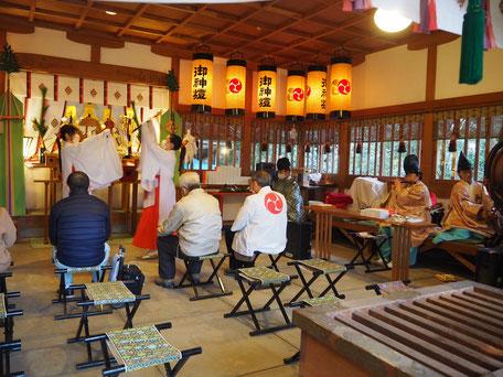 宵宮祭(神楽)