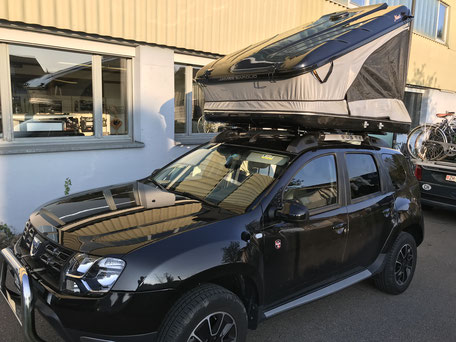 James Baroud Space auf Dacia Duster