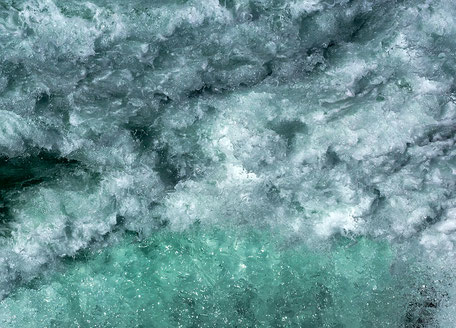 Grandioses Wasserbild von Lothar Schmid, Saas