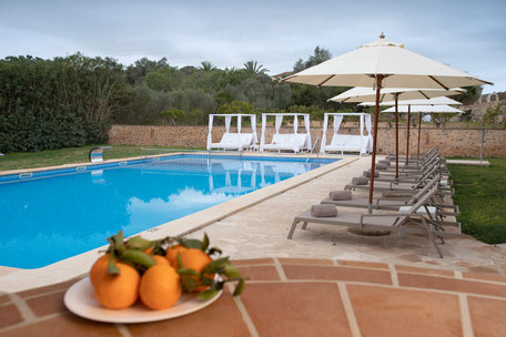 Swimming pool Son Amoixa Vell Majorca