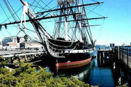 Old Ironsides U.S.S. Constitution