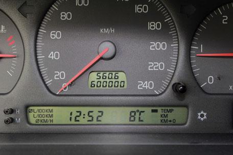 der Alte Schwede erreicht 600.000 km