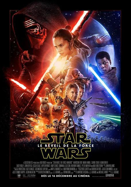StarWars le reveil de la Force au Grand Rex