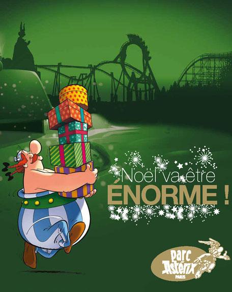 Parc Asterix et un noel inoubliable 2020 pour les CSE