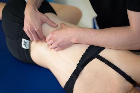 Massage im Rahmen der Physiotherapie