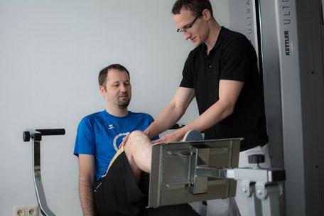 Physiotherapie an Geräten in Graz