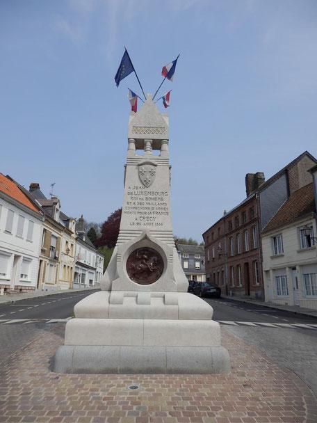 Jean de Luxembourg Crécy-en-Ponthieu