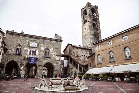 Piazza Vecchia, Città alta, Bergamo