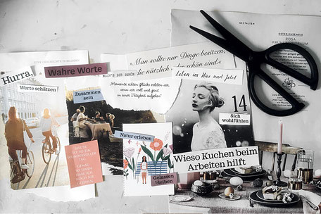 Kreativ Workshop Vision Board gestalten in Hamburg