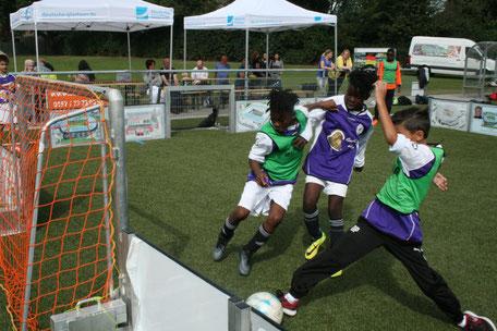 Vereinsturniere, Sommerfeste sind ideal für den Soccer-Ei Supercup