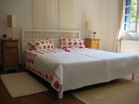 Bretagne Ferienhaus Schlafzimmer