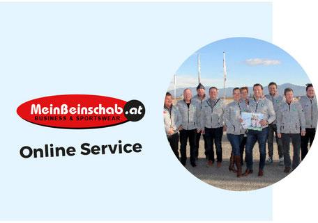 Wolfgang Beinschab und Fohnsdorfer Unternehmer in der Fohnsdorfer Business Jacke