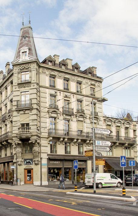 Edith-Waibel-klassische-Homoeopathie-und-coaching-Luzern-Gebaeude-aussen-erster-Stock