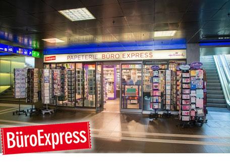 BüroExpress - ShopVille Zürich Hauptbahnhof