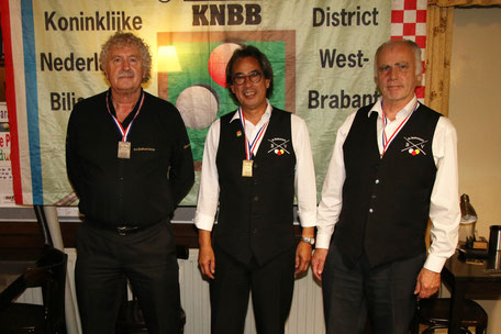 District finale libre 4e klas : 2e Jos van Dartel, 1e Chris Dusink, 3e Marcel van Tienen