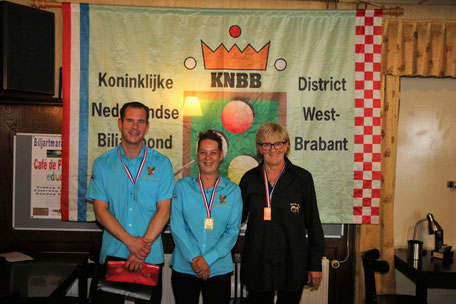 District finale libre 5e klas, 1e Elly van den Heuvel, 2e Sylvaer van Loon, 3e Ella van Loon